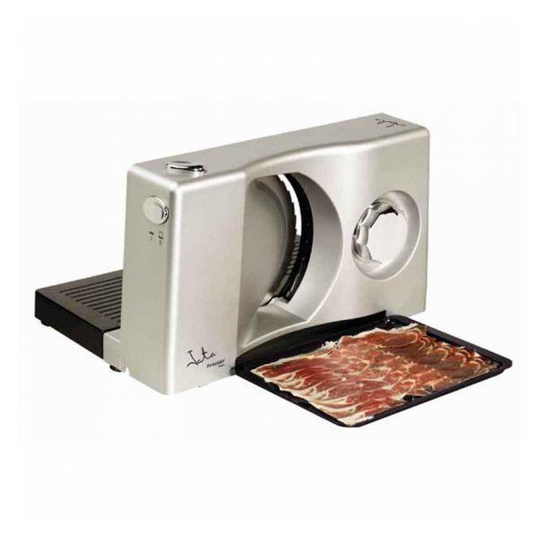 Trancheuse de viande ménagère JATA CF301 100W Inox