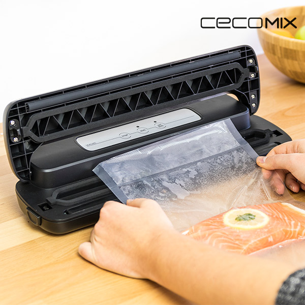 Machine sous Vide Cecomix Sealvac 4049 LED 0,8 bar 110W Noir