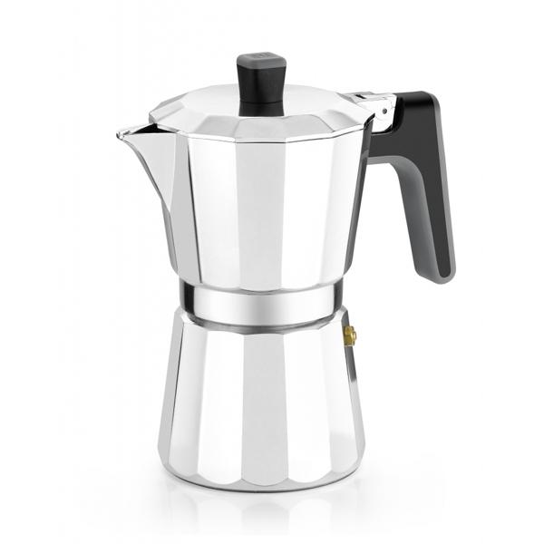 Cafetière Italienne BRA 8535 (6 tasses) Aluminium