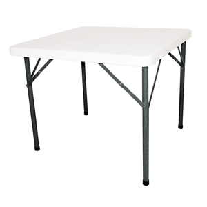 Table carrée pliante