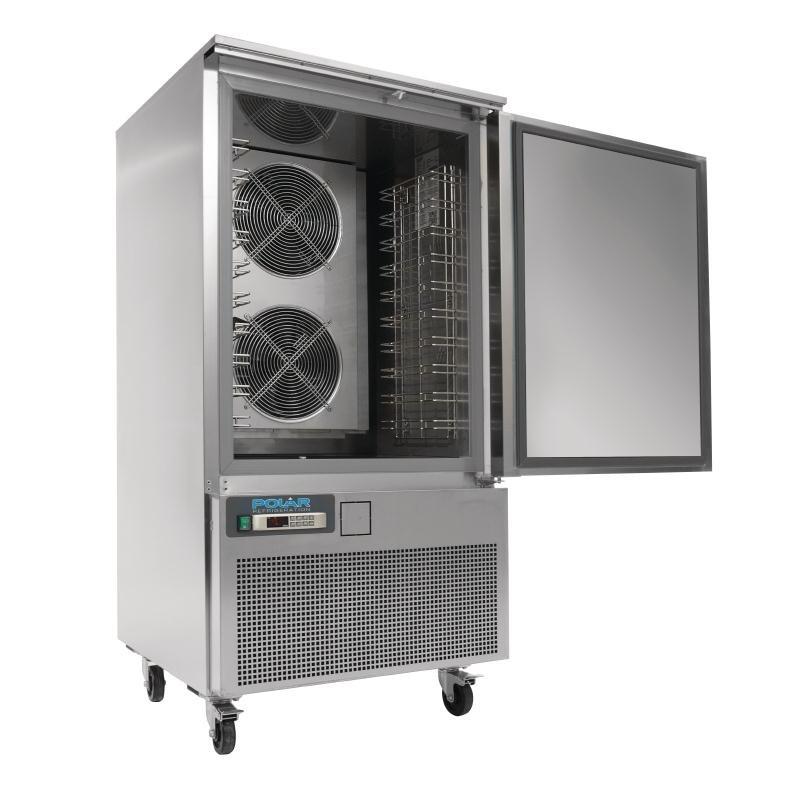 Cellule de refroidissement et congélation rapides Polar Série U 40kg / 28kg
