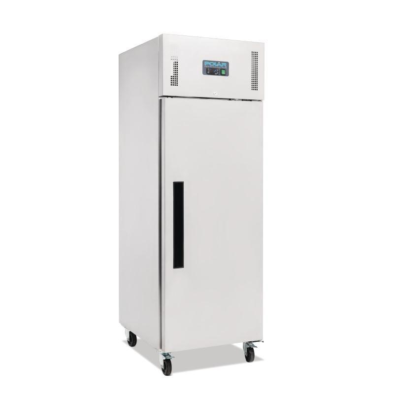 Armoire réfrigérée négative GN inox 1 porte Polar Série G 600L