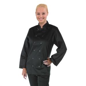 Veste Chef Noire manches longues