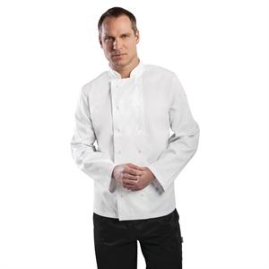 Veste Chef manches longues blanche