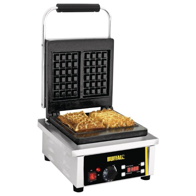 Appareil gaufres 2000w gaufriers et cr pi res euroreca for Appareil de cuisson professionnel