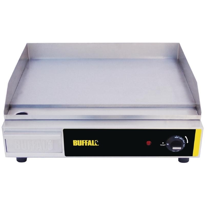 Plancha électrique Buffalo 525 x 450mm