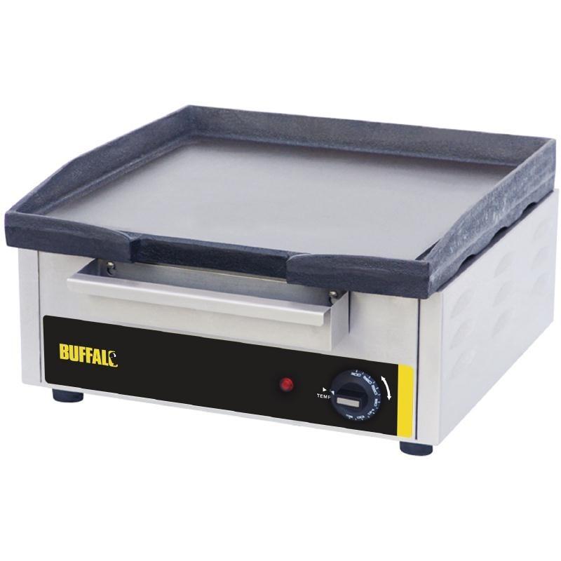 Plaque de cuisson électrique en fonte lourde 2 dimensions  380 x 385 mm