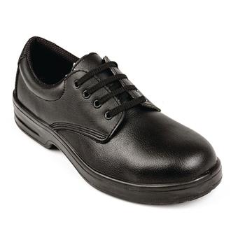 Chaussures de sécurité à lacets noires