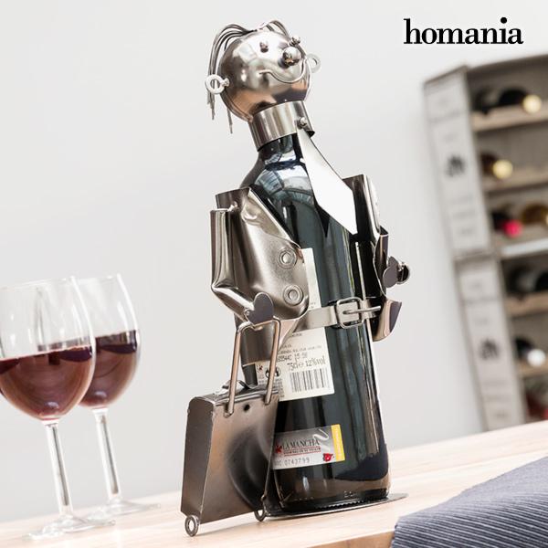 Porte-bouteilles en métal Businessman by Homania
