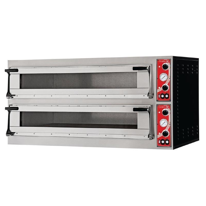 Four à pizza Milan 2 Gastro M avec 2 chambres 400V