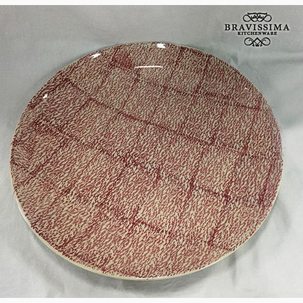 Assiette creuse Grès (37 x 37 x 4 cm) by Bravissima Kitchen