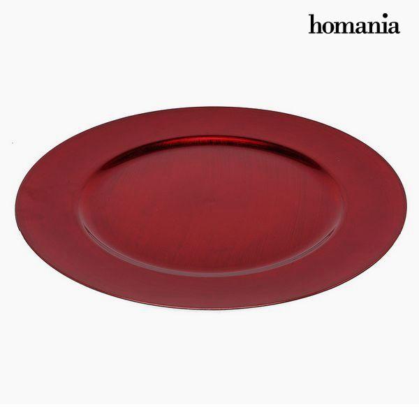 Assiette plate Homanía 942 Rouge