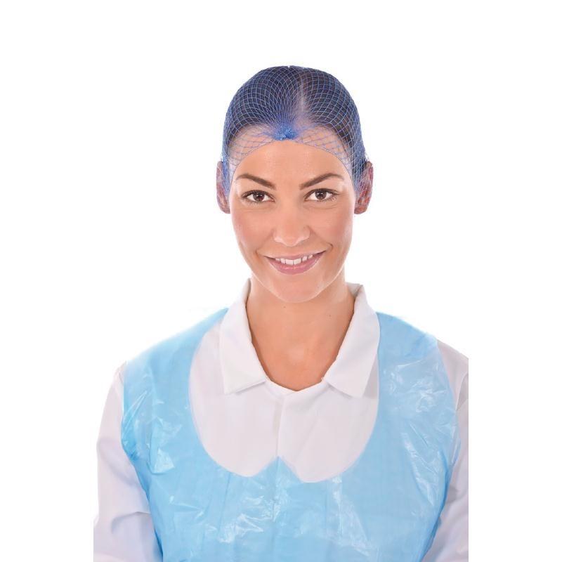 Filets à cheveux bleus par 50