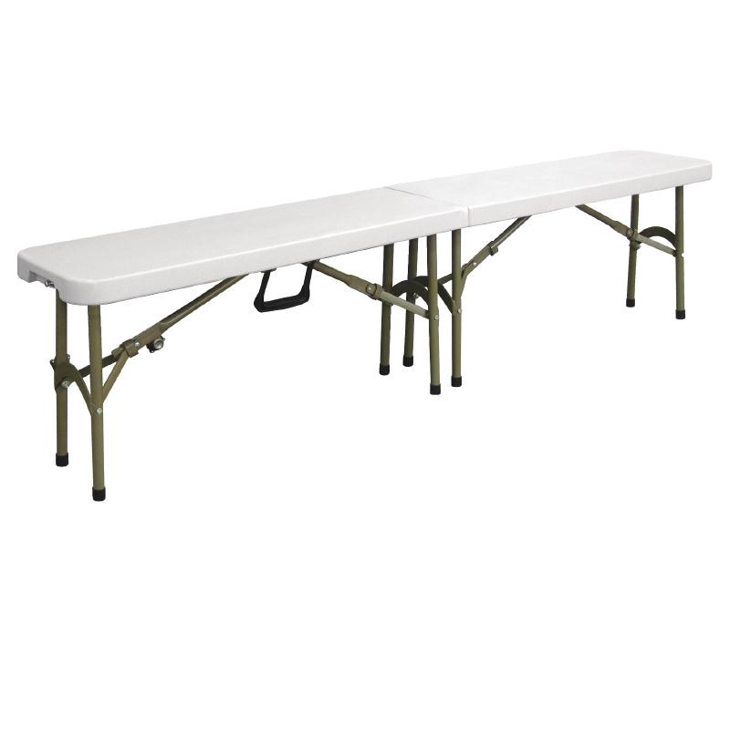 Banc pliable au centre 1830mm