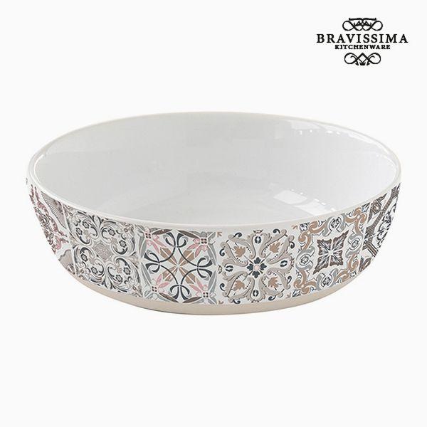 Assiette creuse Porcelaine Gris by Bravissima Kitchen