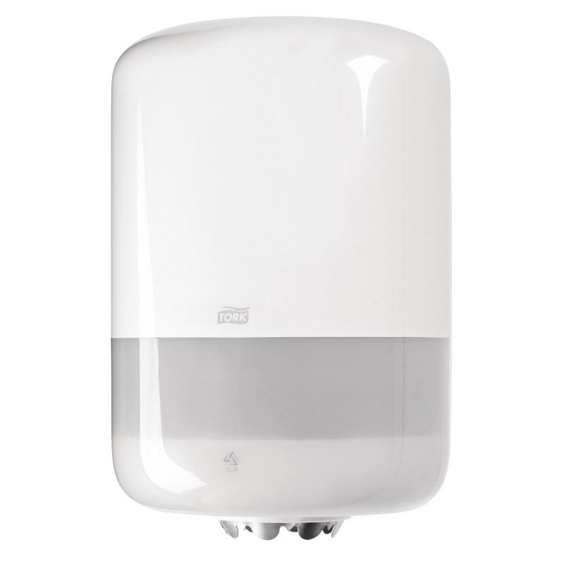 Distributeur blanc pour bobine à dévidage central Tork