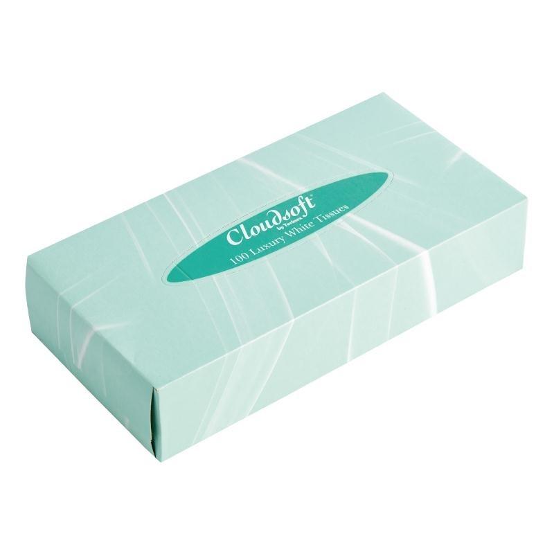 Boîte de mouchoirs en papier rectangulaire par 36