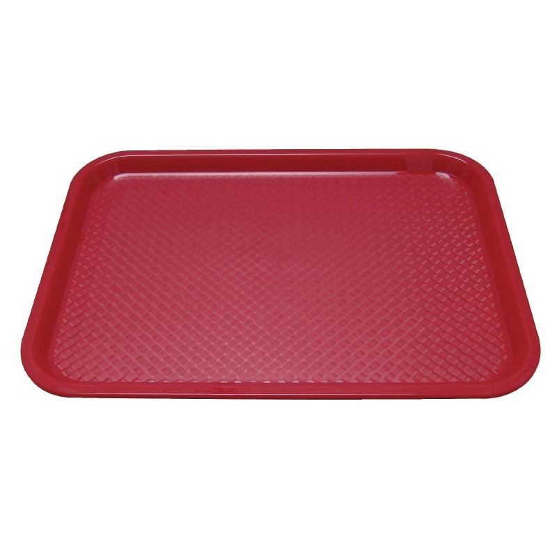 Plateau self-service Kristallon 305 x 415mm rouge