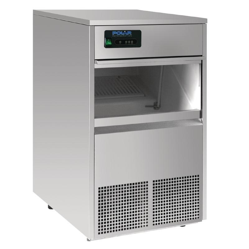 Machine à glaçons professionnelle à remplissage automatique 50kg/24H