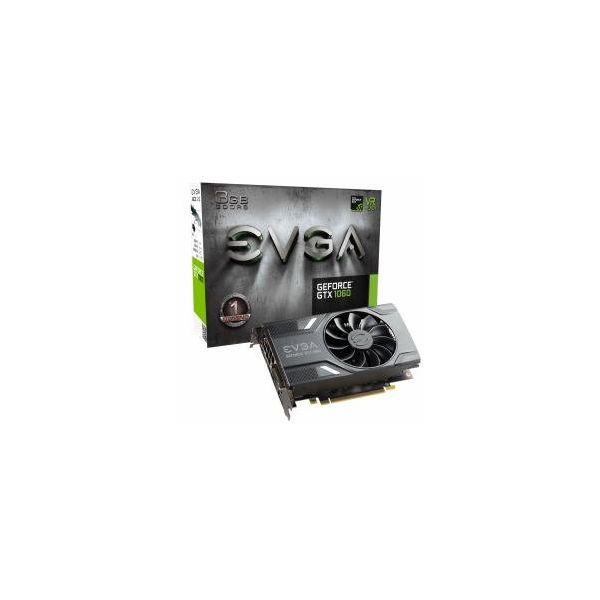 Carte Graphique Gaming EVGA 03G-P4-6160-KR GTX 1060 ACX 2.0 3 GB|DDR5