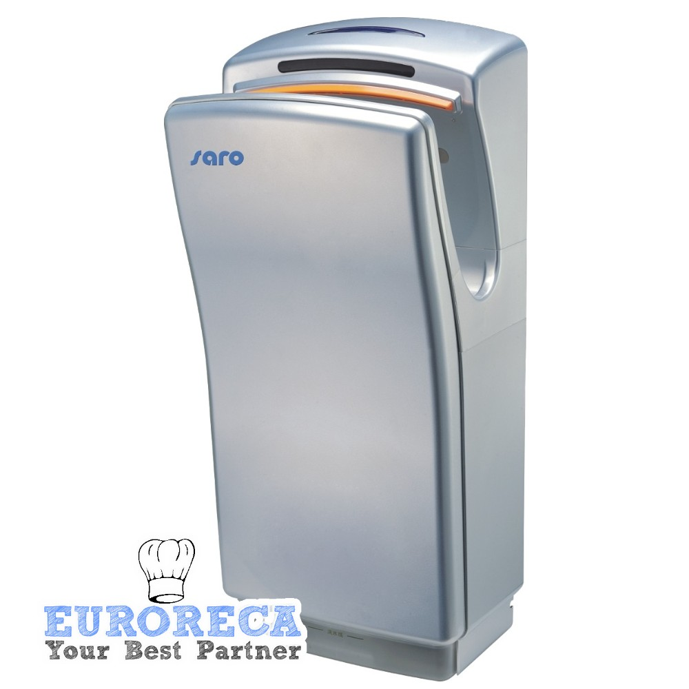 Sèche-mains vertical à air pulsé 1400w