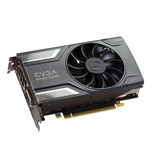 Carte Graphique Gaming EVGA 06G-P4-6163-KR 6 GB DDR5 ACX2.0
