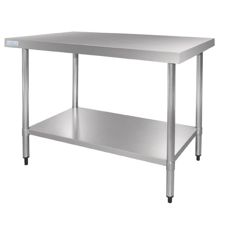 Table De Travail inox avec Étagère 600x700x900(h)mm