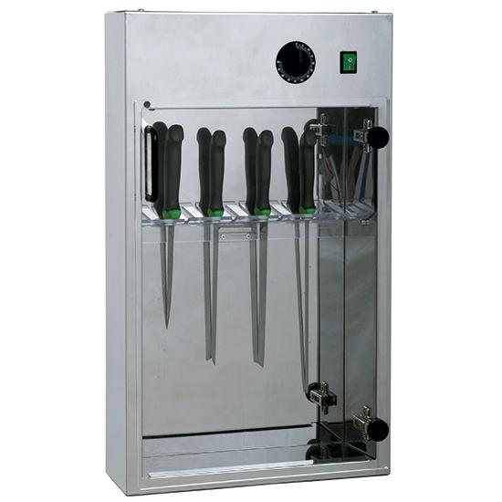 Stérilisateur de couteaux avec minuterie pour 20 pièces Largeur