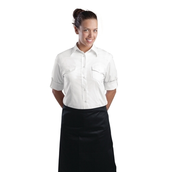 Chemise pilote femme Uniform Works blanche