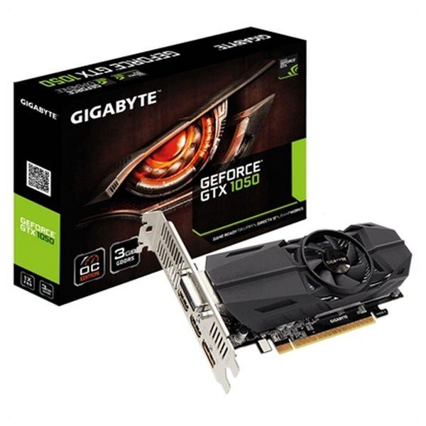 Carte Graphique Gaming Gigabyte GV-N1050OC-3GL 3 GB DDR5