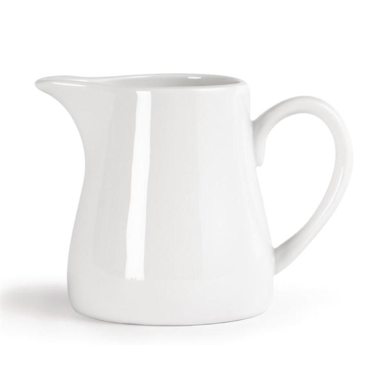 Pots à lait blancs Olympia 305ml
