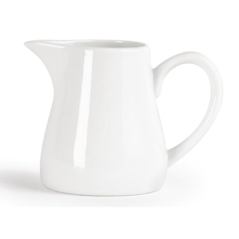 Pots à lait blancs Olympia 212ml
