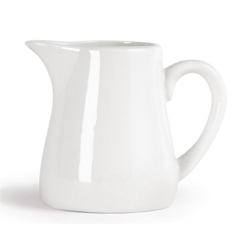 Pots à lait blancs Olympia 170ml