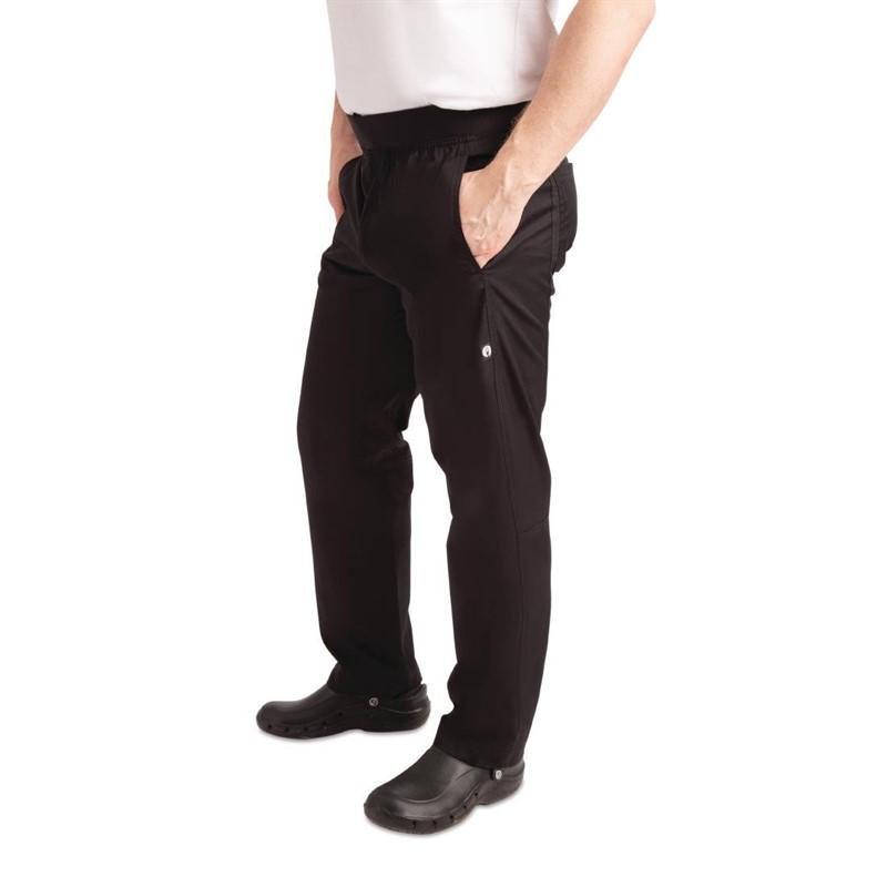 Pantalon slim léger homme Chef Works noir