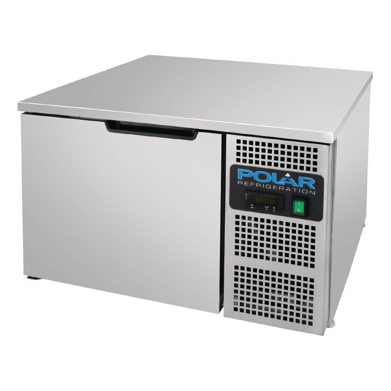 Cellule de refroidissement et congélation rapides de comptoir Polar Série G 8kg / 5kg