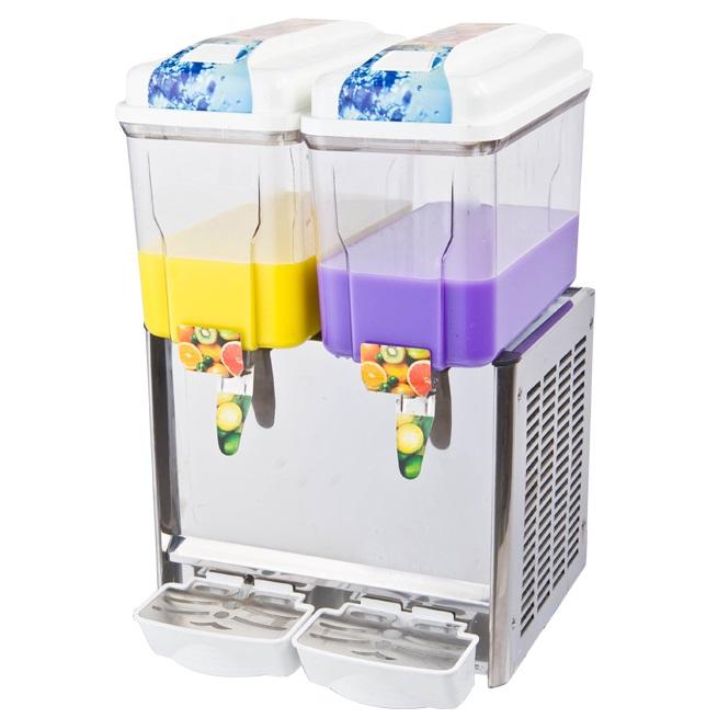 Distributeur de boissons réfrigérées 2 x 12L