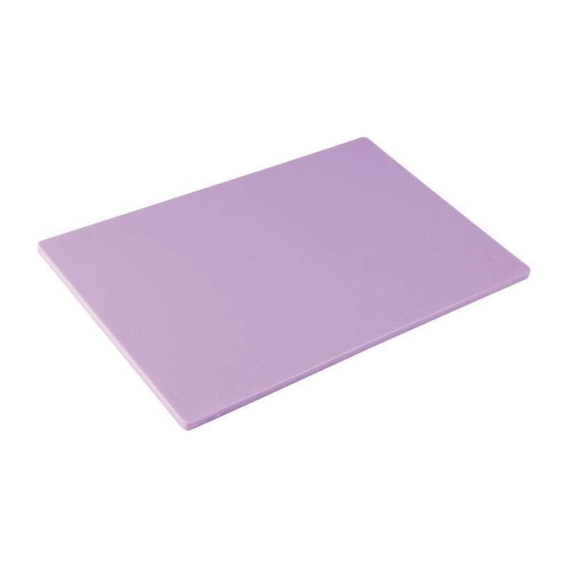 Planche à découper standard basse densité Hygiplas violette