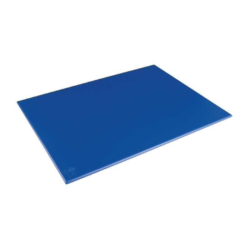 Grande planche à découper haute densité Hygiplas bleue