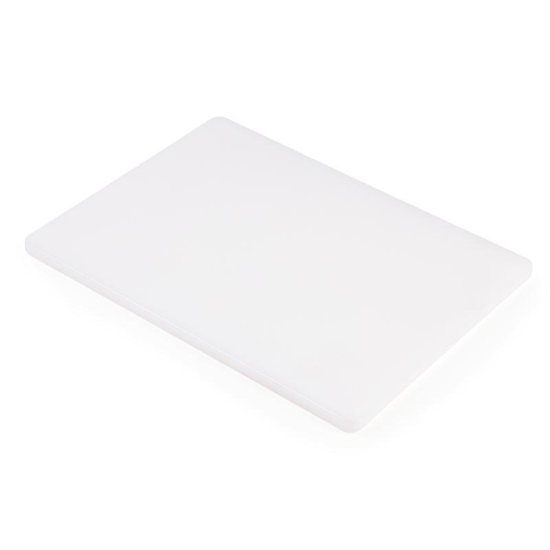 Petite planche à découper basse densité Hygiplas blanche