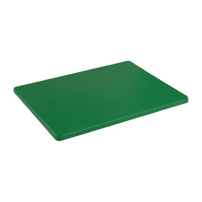 Petite planche à découper basse densité Hygiplas verte