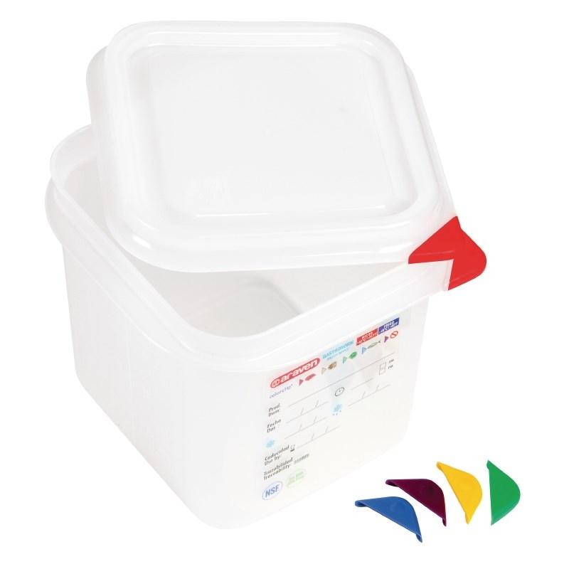 Boîte alimentaire GN1/4 Araven 2,6L