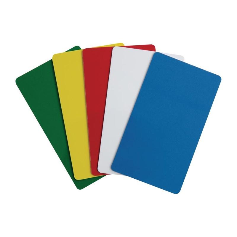 Etiquettes d\'identification 5 couleurs pour Gobox Cambro