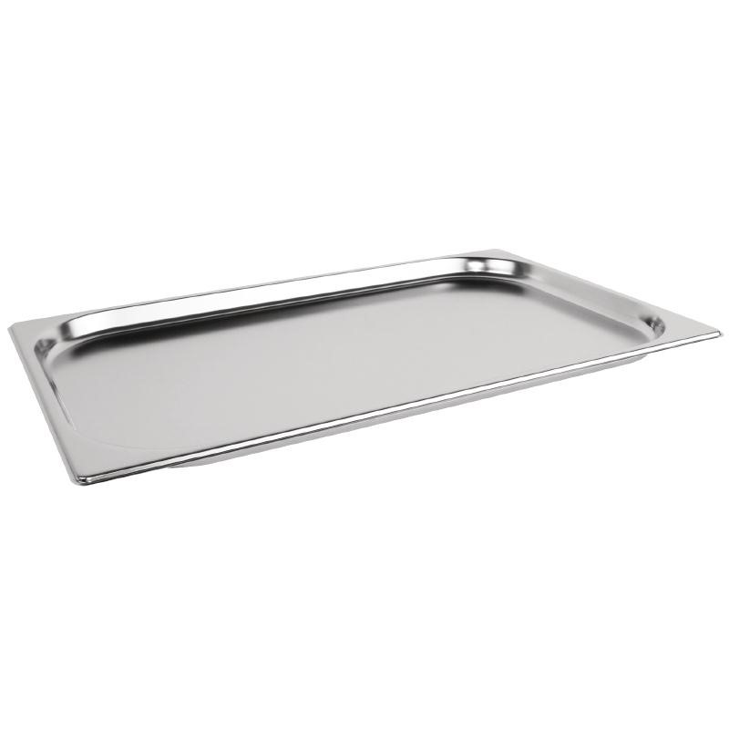 Bac GN 1/1 inox professionnel Vogue 20mm