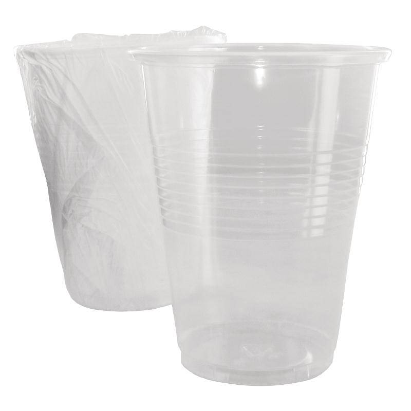 Gobelets jetables emballés 255ml par 500