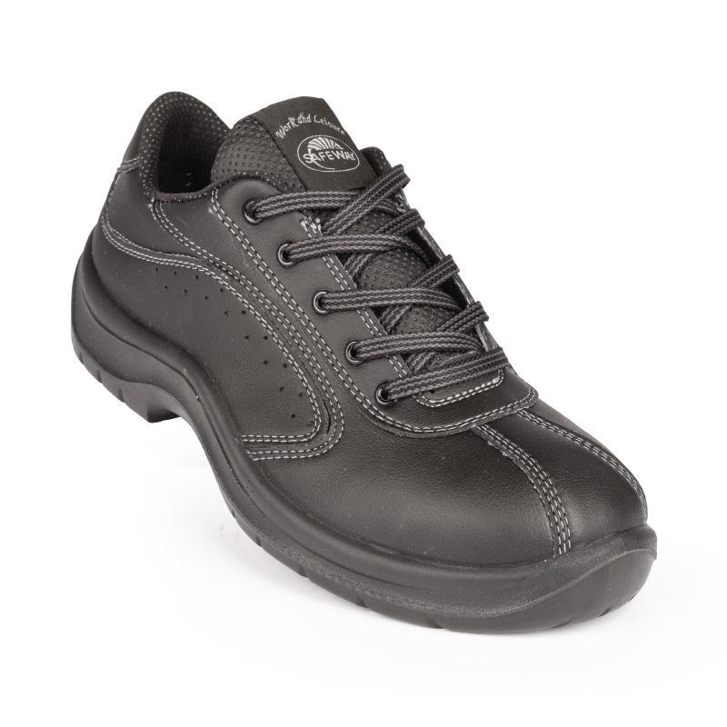 Chaussures à lacets et perforation latérale Lites noires