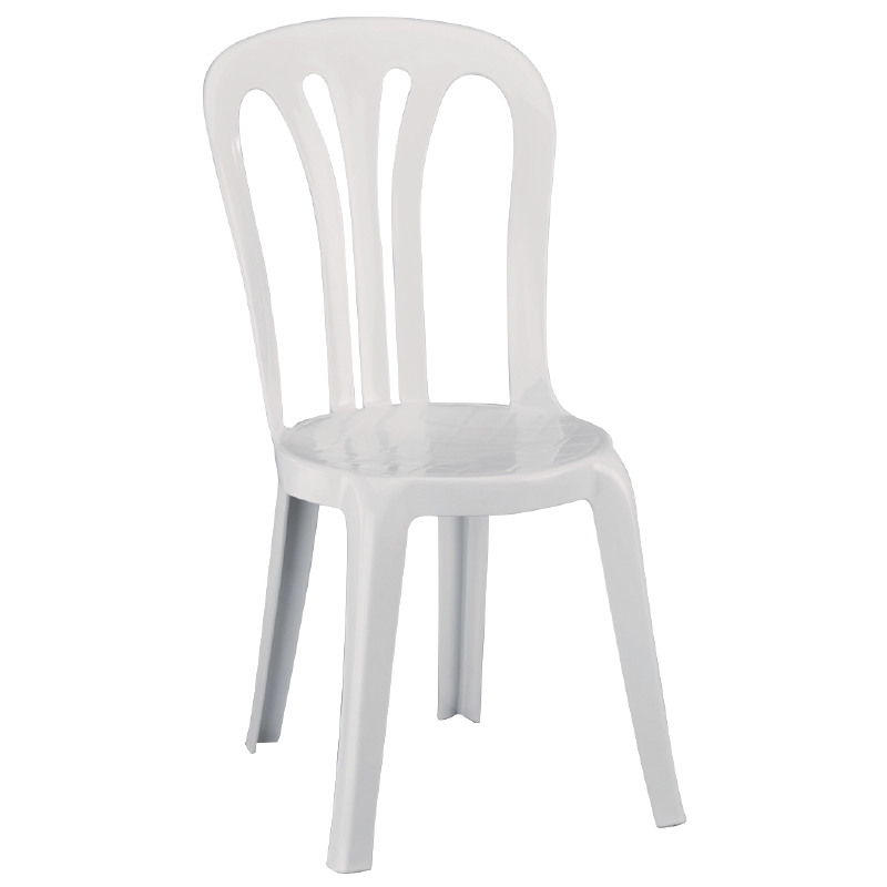 Chaises empilables multi usages Resol blanches par 6