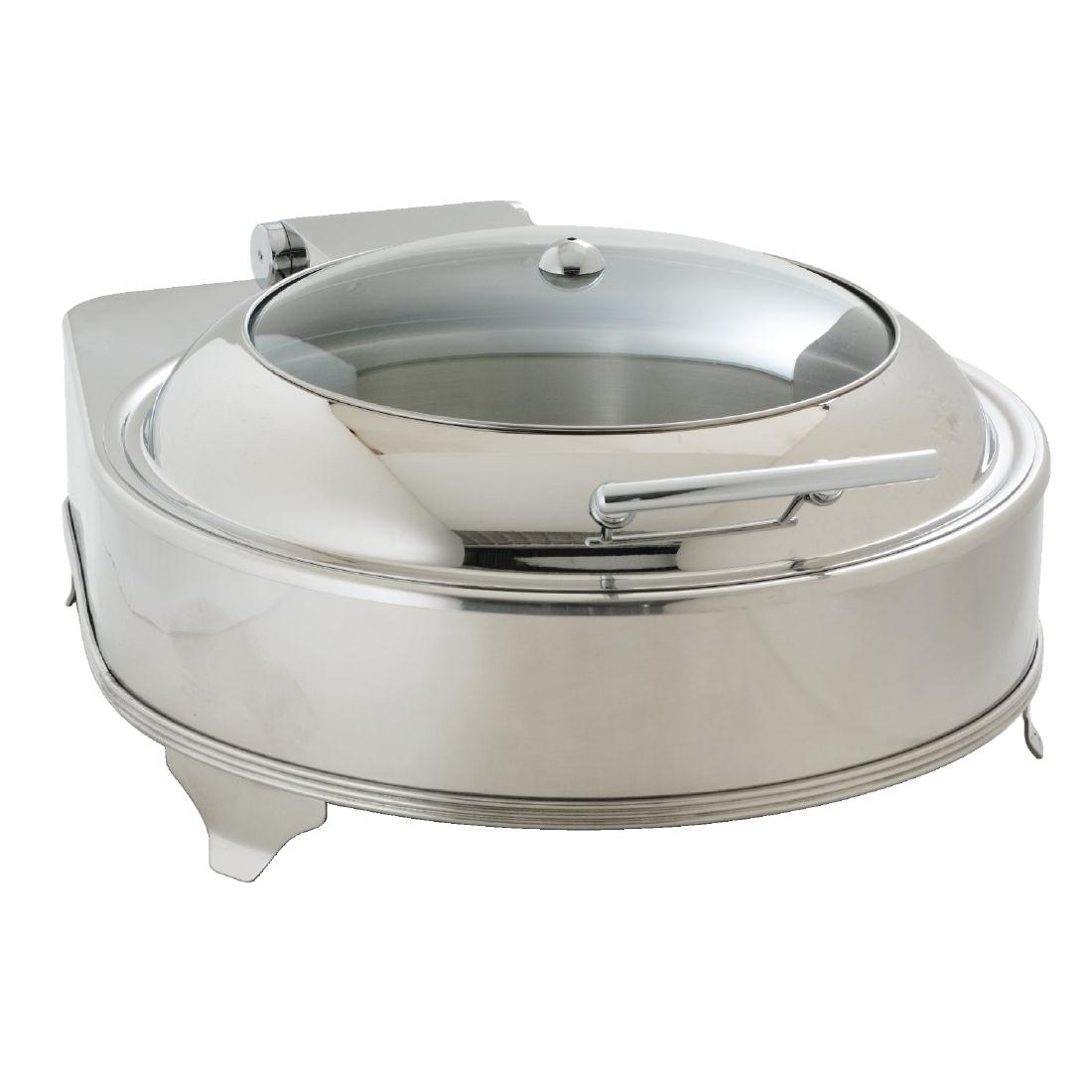 Chafing dish électrique rond inox