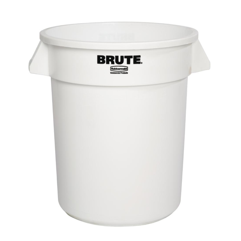 Collecteur Rubbermaid Brute blanc 76L