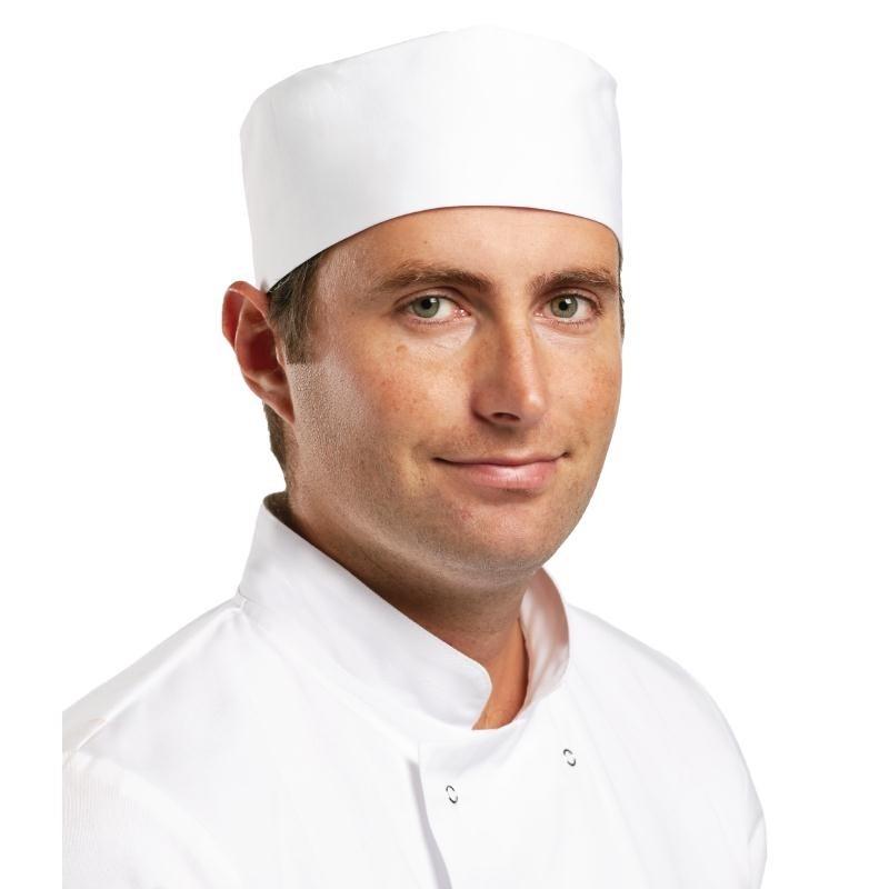 Calot de cuisine Whites blanc S