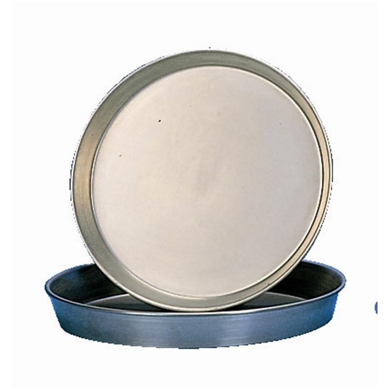 Plaque à pizza en fer noir 35,6 cm